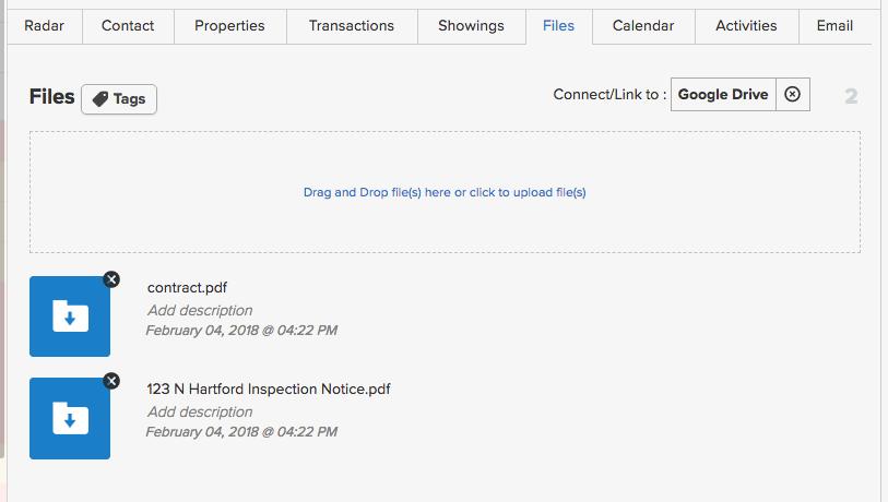 Files Tab (Google Drive Sync) – Realvolve Help Center